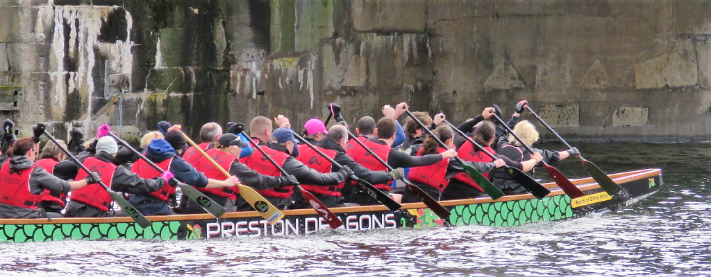 Preston Dragons in action at Liverpool in 2019