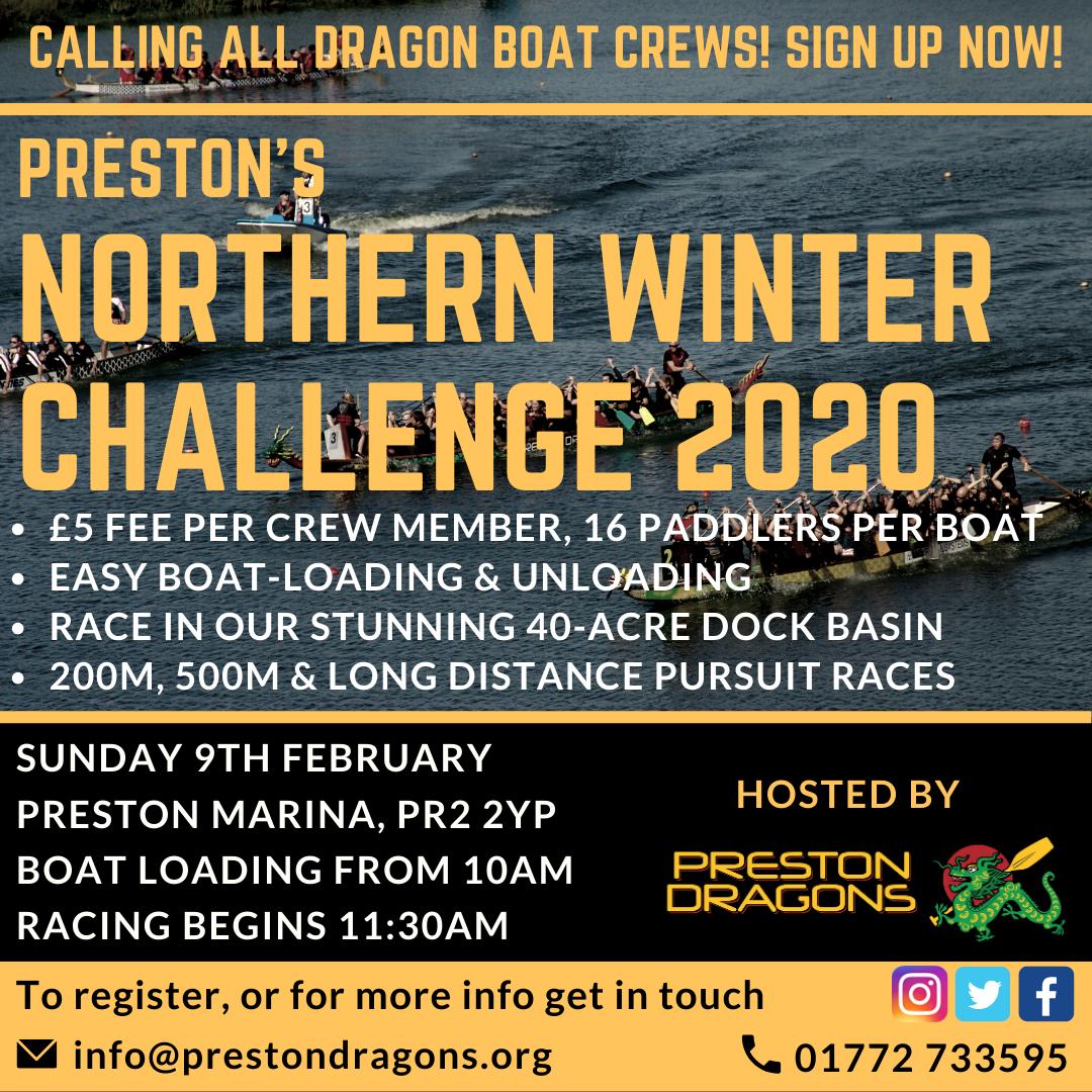 Preston's Northern Winter Challenge 2020
